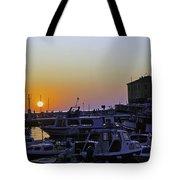 Rovinj Sunset Tote Bag
