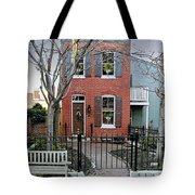 Row Home Contradiction Tote Bag