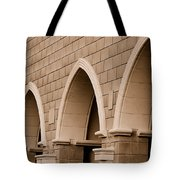 Row Of Arches Tote Bag