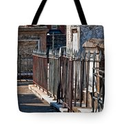 Row Of Tombs St Louis One Cemetery New Orleans Tote Bag