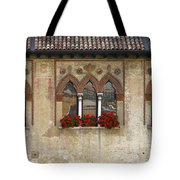 Row Of Windows In Treviso Italy Tote Bag