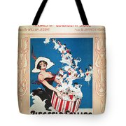 Row Row Row: Song Sheet Tote Bag