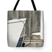 Rowboat And Boathouse Tote Bag