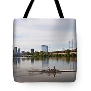 Rowing The Schuylkill Tote Bag