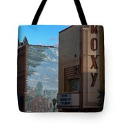 Roxy Theater And Mural Tote Bag
