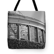 Royal Conservatory In Brussels - Black And White Tote Bag