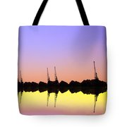 Royal Docks Cranes  Art Tote Bag