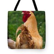 Royal Golden Rooster 1 Tote Bag