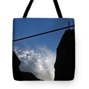 Royal Gorge Bridge And Sky Tote Bag