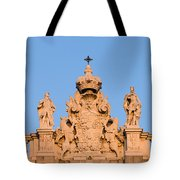Royal Palace In Madrid Architectural Details Tote Bag