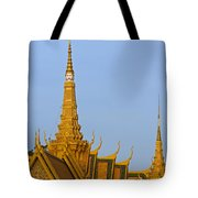 Royal Palace Roof. Tote Bag