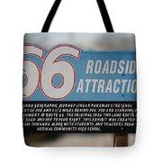 Rt 66 Towanda Il Parkway Signage Tote Bag