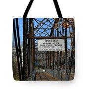Rube Nelson Bridge 2 Tote Bag