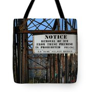 Rube Nelson Bridge 3 Tote Bag