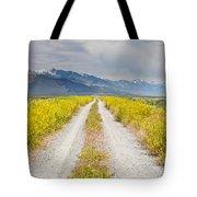 Ruby Mountains Wildflower Road Tote Bag by Sheri Van Wert