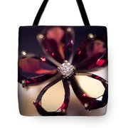 Ruby Ring I. Spirit Of Treasure Tote Bag by Jenny Rainbow