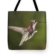 Ruby-throated Hummingbird - Twirling Tote Bag