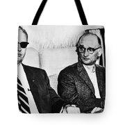 Rudolph Abel (1903-1971) Tote Bag