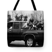 Rugby Truck Tote Bag