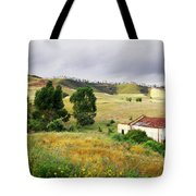 Ruin In Countryside Tote Bag