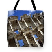 Ruins Of The Great Library At Ephesus Tote Bag