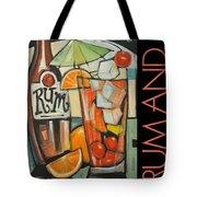 Rum And Poster Tote Bag