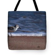 Run By The Sea Tote Bag