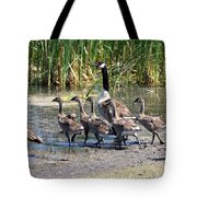 Running For Water Tote Bag