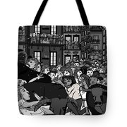 Running Of The Bulls 2 Tote Bag