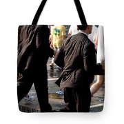 Running Suits Color Tote Bag