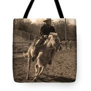 Running The Horse Tote Bag