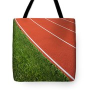 Running Track Tote Bag