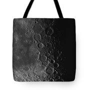 Rupes Recta Ridge And Craters Pitatus Tote Bag