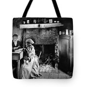 Rural Couple Eating, C1899 Tote Bag