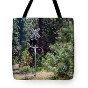 Rural Crossing Tote Bag