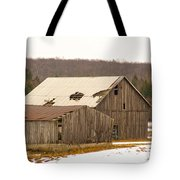 Rural Ontario Farm Tote Bag