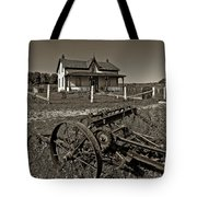 Rural Ontario Sepia Tote Bag