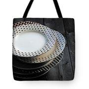 Rural Plates Tote Bag