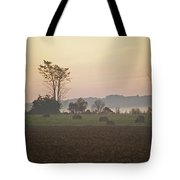 Rural Sunrise Tote Bag