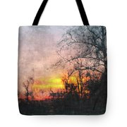 Rural Sunset  Art Tote Bag
