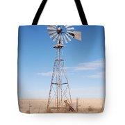 Rural Windmill Tote Bag