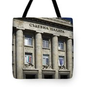 Ruse Bulgaria Courthouse Tote Bag