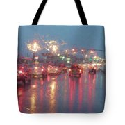 Rush Hour In The Rain Tote Bag