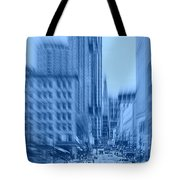 Rush Hour In Vancouver Tote Bag