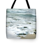 Rushing In Tote Bag