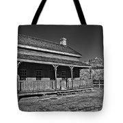 Russell Home - Bw Tote Bag