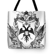 Russia: Coat Of Arms Tote Bag