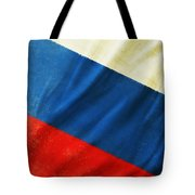 Russia Flag Tote Bag