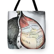 Russia: Imperialism, 1951 Tote Bag