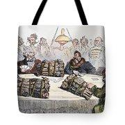 Russian Cartoon, 1854 Tote Bag